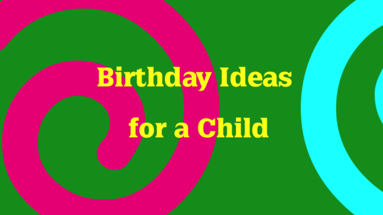 Happy Birthday Ideas for Child-Moonzori